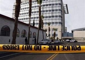 Вооруженный преступник открыл огонь в суде Лас-Вегаса