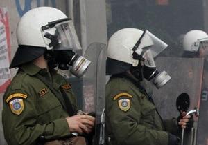 В Греции против демонстрантов применили слезоточивый газ