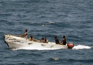 Американские моряки захватили в Индийском океане пятерых пиратов
