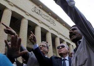 Суд изгнал из Египта иностранных правозащитников