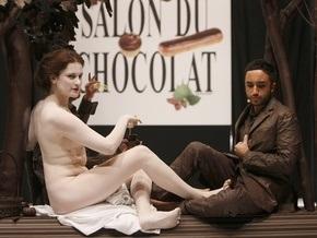 Фотогалерея: Французы оделись в шоколад