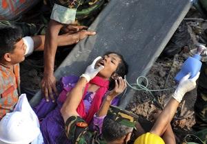 Выжившая под завалами в Бангладеш женщина рассказала, как провела последние 17 дней