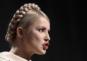 Тимошенко поручила установить веб-камеры для наблюдения за печатанием бюллетеней