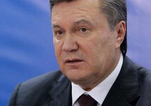 Янукович обратился к украинцам по случаю Международного дня инвалидов