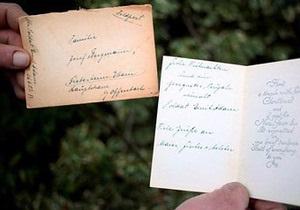 Жители Германии получили открытки, отправленные солдатами вермахта