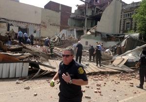 В США в городе Филадельфия рухнул дом: Погибли шесть человек