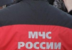 В жилом доме на юге Москвы произошел сильный пожар