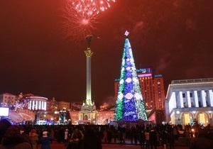 Празднование Нового года на Майдане обойдется в 6-7 миллионов гривен