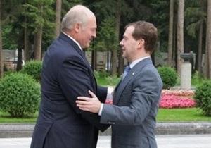Медведев и Лукашенко встретились в Москве