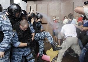 Иностранные СМИ: В Украине война слов переросла в драку