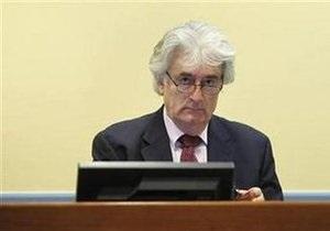 Гаагский трибунал разрешил Караджичу обжаловать назначение ему адвоката