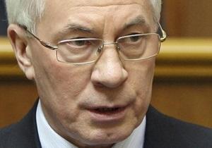 Азаров: Правительство не будет вмешиваться в ход местных выборов