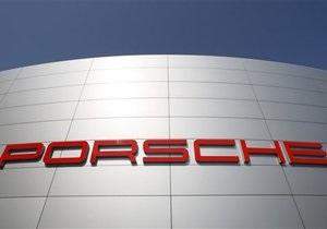 Продажи Porsche в июле выросли на 16%