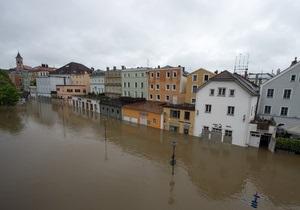 Сильнейшее наводнение в Германии: в ряде городов объявлена тревога