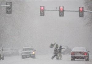 На северо-запад США надвигается сильная снежная буря
