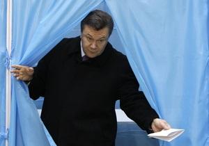 Янукович объяснил ОБСЕ цель принятия изменений к закону о выборах