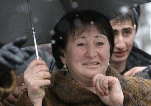 Лидера южноосетинской оппозиции Аллу Джиоеву выписали из больницы