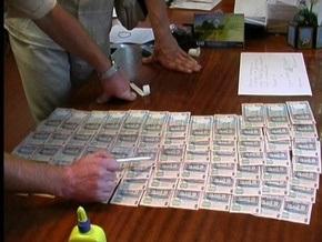 Под Киевом чиновник попалась на взятке в миллион гривен