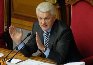 Литвин считает, что Украина стала заложником проблемы Тимошенко