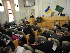 Харьковский горсовет требует одновременной отставки Президента, Кабмина и Рады