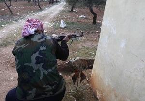 Конфликт в Сирии. Повстанцы одержали ряд побед