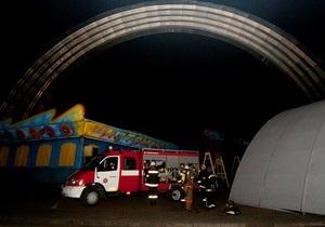 В центре Киева сгорел ресторан: двое погибших