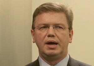 В Украину приезжает ответственный за политику расширения комиссар ЕС