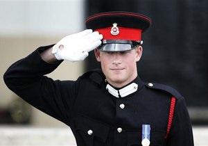 Принц Гарри вернулся к своим воинским обязанностям в Афганистане