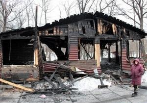 Стали известны предварительные причины пожара в кафе в Гидропарке