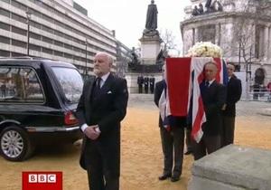 Похороны Маргарет Тэтчер - прямая трансляция из Лондона
