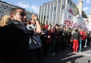 Греческие профсоюзы намерены провести масштабные забастовки