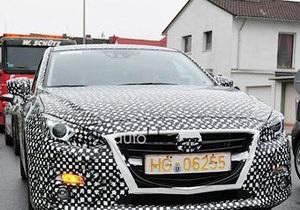 Появились первые фото новой Mazda 3
