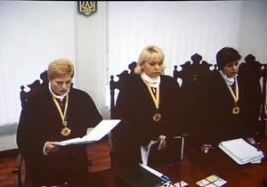 Суд отклонил очередную жалобу защиты Тимошенко и объявил перерыв