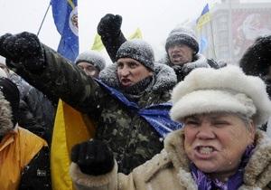 Завтра предприниматели возобновят акции протеста по Украине