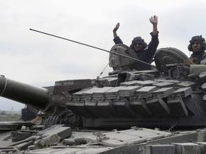 МВД Грузии: Бронетанковый батальон прекратил мятеж