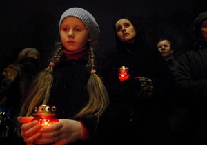 В Украине стартовала акция памяти жертв Голодомора