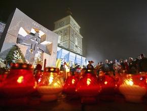 В Посольстве Украины в России почтили память жертв Голодомора