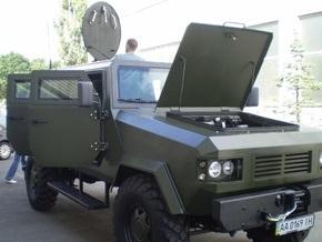 24 августа на Крещатике представят современный украинский бронеавтомобиль