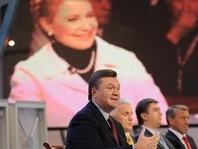 Опрос: Разрыв между Януковичем и Тимошенко резко сократился