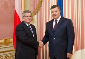 Янукович о Евро-2012: Мы с Польшей сдали достойно общий экзамен