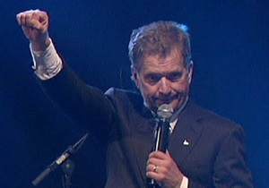 На президентских выборах в Финляндии победил Саули Нийнисте