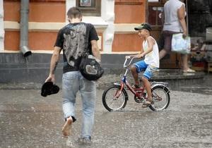 На этой неделе на западе и севере страны ожидаются дожди