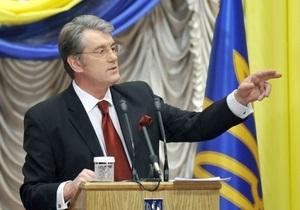 Ющенко не верит обещаниям Януковича сделать русский язык вторым государственным