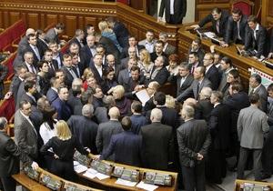 УДАР: Рыбак способствует уничтожению парламентаризма и углублению политического кризиса