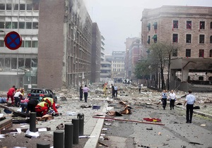 Жертвами нападений в Норвегии стали несколько членов правительства
