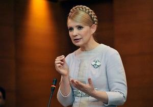 Тимошенко: Первым шагом нового президента должно стать создание общественного телевидения