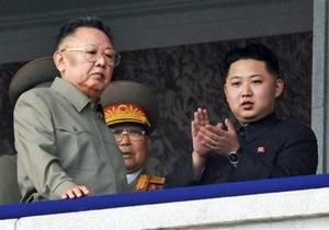 Ким Чен Ира с сыном пригласили в Китай