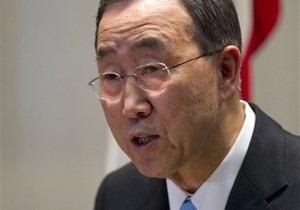 Генсек ООН: Главный приоритет для нас в Ливии - это оказание гуманитарной помощи