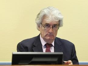 Караджич обжалует решение о назначении ему адвоката