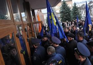 Милиция Ивано-Франковска заявила, что не избивала активистов ВО Свобода